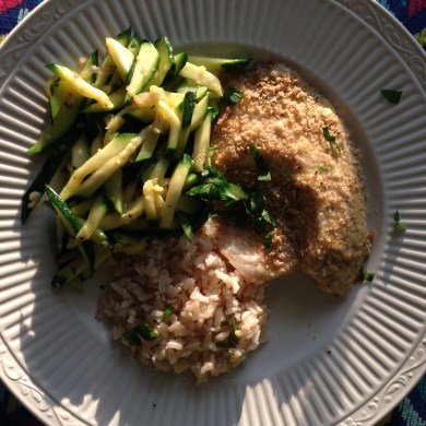 parm-crusted-tilapia