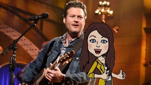 Blake Shelton and Miranda Lambert divorce so Blake could be with me