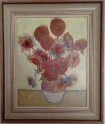 Vincent Van Gogh - Sunflowers (a reproduction)