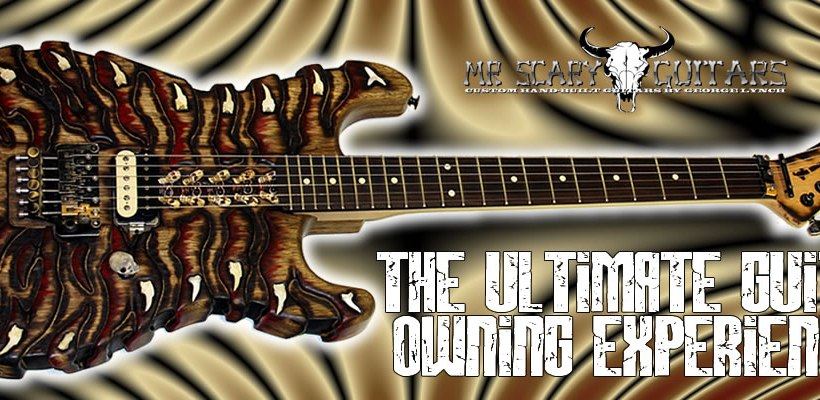 George Lynch's Mr Scary Guitars