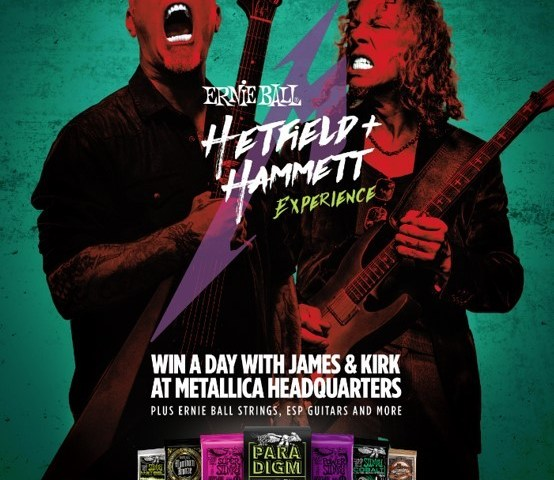 "Ernie Ball Presents The ""Hetfield and Hammett Experience"""