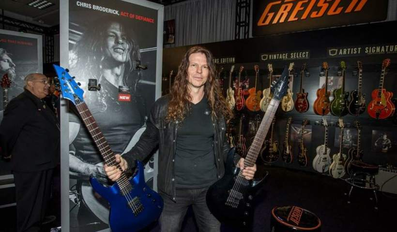 Chris Broderick Debuts His New Jackson Soloist HT6