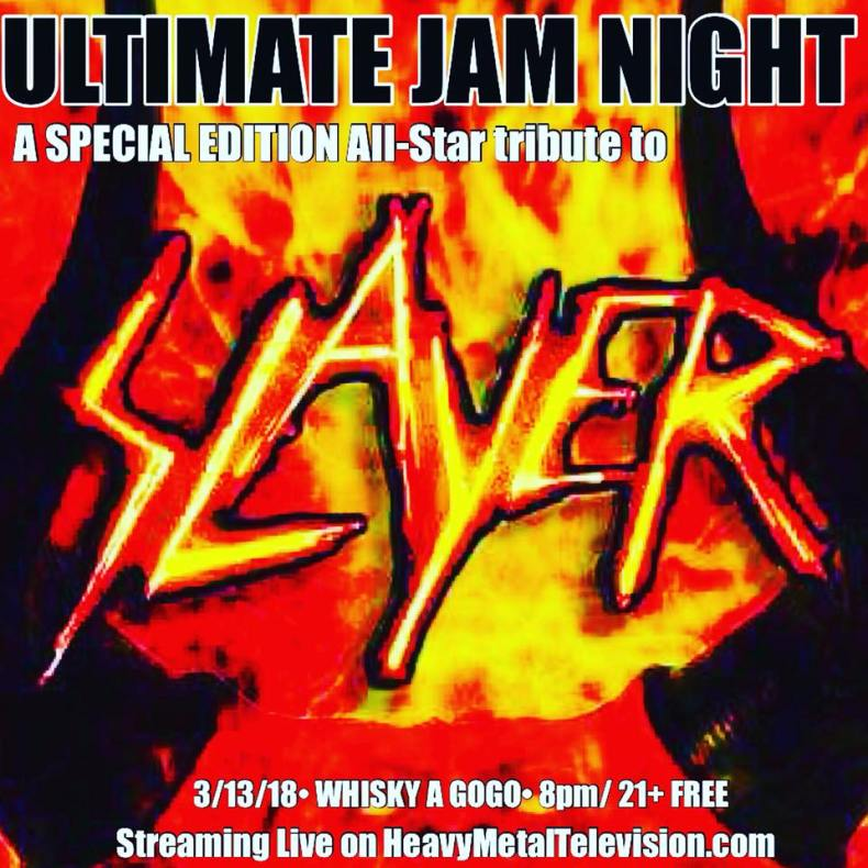 Ultimate Jam Night To Present Special Edition Honoring Slayer