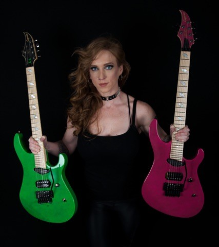 Courtney Cox Unveils Her Caparison Signature Guitar