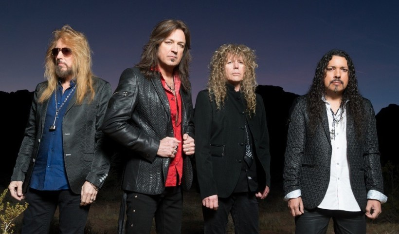 "Stryper's Michael Sweet: ""God Damn Evil Is A Prayer Request"""