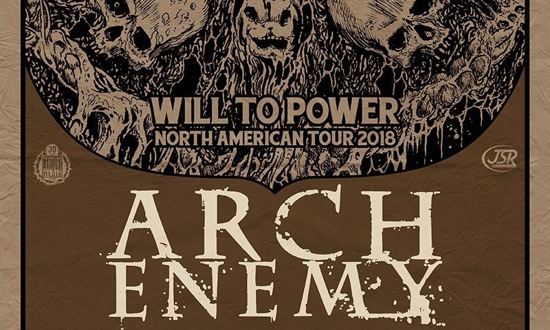 Arch Enemy Announce Headlining Will To Power Fall US Tour