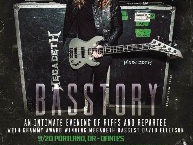 Megadeth Bassist Dave Ellefson Announces First Dates For Basstory Tour
