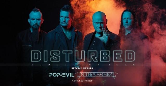 """Disturbed Announces Second Leg Of """"Evolution"""" US Tour"""