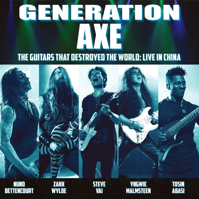 Generation Axe: 'Live In China' Album Feat. Vai, Malmsteen, Wylde, Bettoncourt, Abasi Due In June