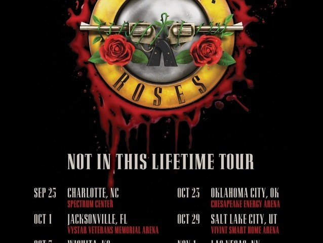 Guns N' Roses Announces Fall 2019 US Tour Dates