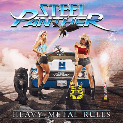 "Steel Panther Set To Release ""Heavy Metal Rules"" On 9/27"