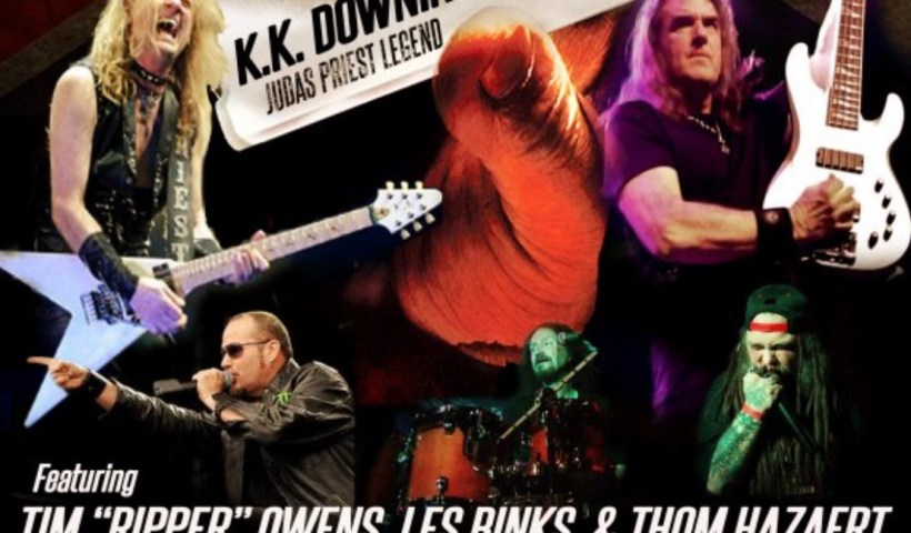 Former Judas Priest Members K.K. Downing, Les Binks & Tim 'Ripper' Owens To Perform Bands Classic Songs At One-Off Concert