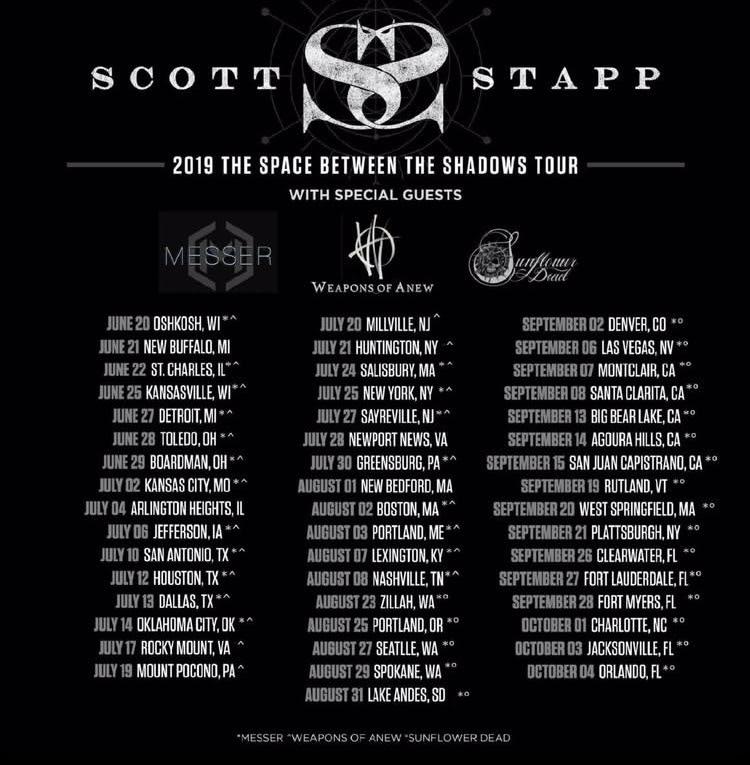 Scott Stapp Guitarist Yiannis Papadopoulos Discusses His Career