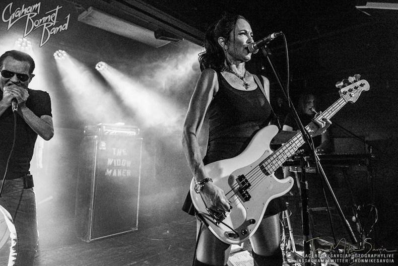 Artist Spotlight: Graham Bonnet Bassist Beth-Ami Heavenstone