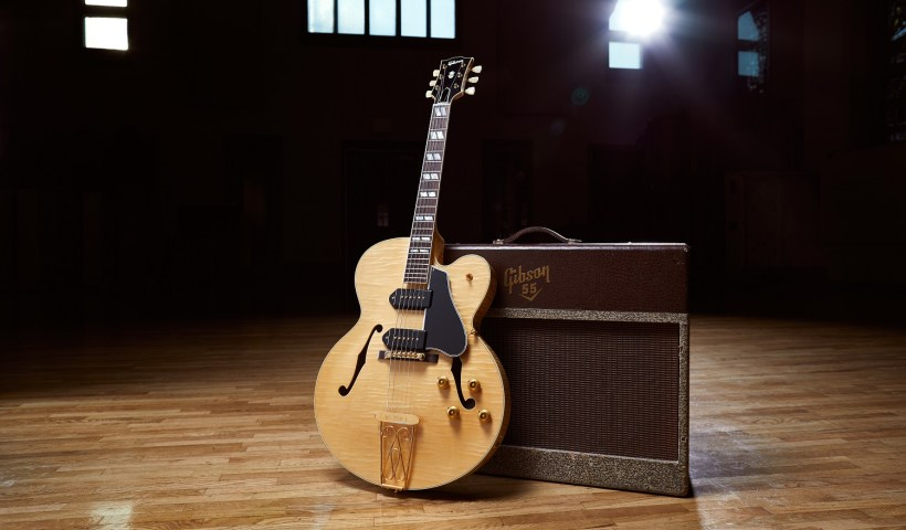 Chuck Berry-Gibson-Announces World Premiere Of 'Chuck Berry 1955 ES-350T'
