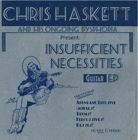 "Henry Rollins/David Bowie Guitarist Chris Haskett To Release New Instrumental EP ""Insufficient Necessities"" on 11/15"