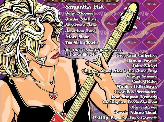 The Samantha Fish Cigar Box Guitar Festival - New Orleans 2020
