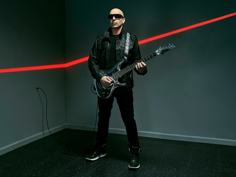 Joe Satriani Talks The Making Of His New Album Shapeshifting