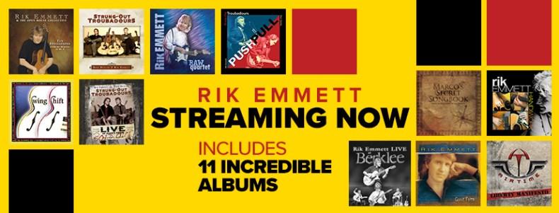 Triumph's Rik Emmett Reissues 11 Solo Titles