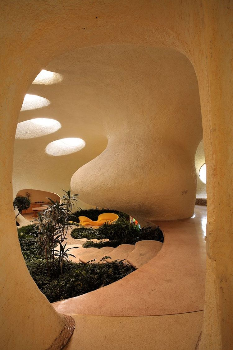 Inside The Wondrous Prismatic Chambers Of The Nautilus House