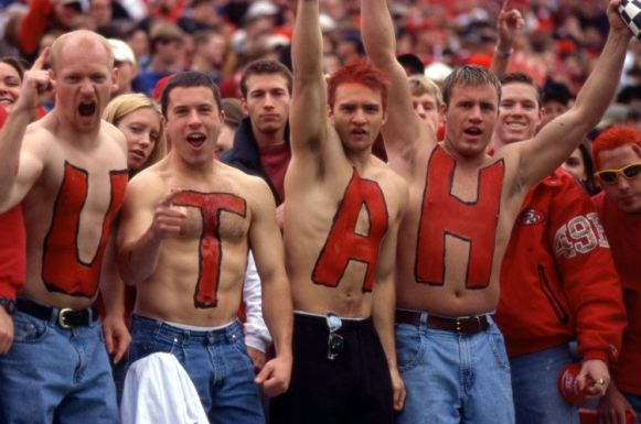 You'll definitely run into this type of person at the University of Utah!