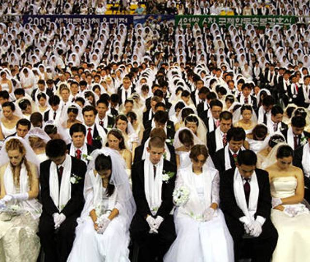 Inside The Unification Churchs Strange Mass Wedding Ceremonies Video