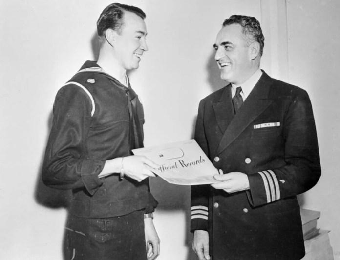 Hitler's Newphew In Naval Uniform