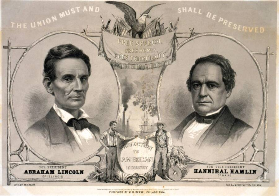 Campaign Poster For Abraham Lincoln