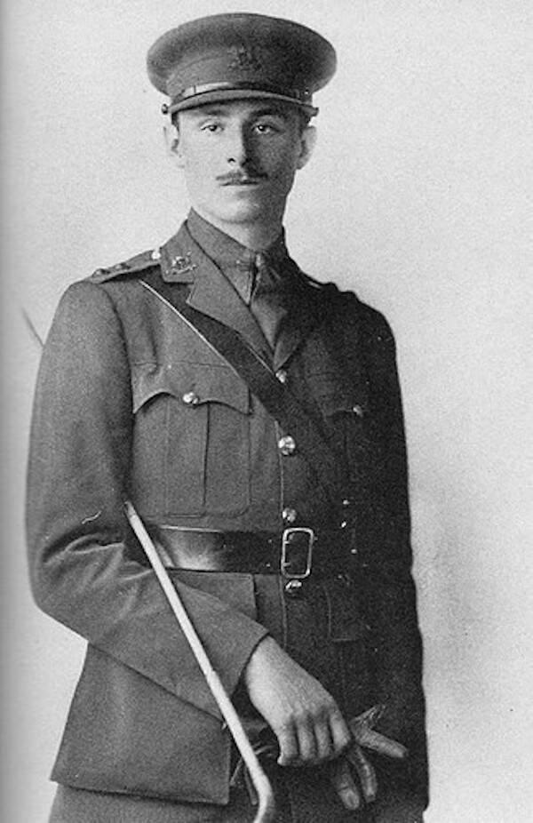 Owald Mosley In Uniform