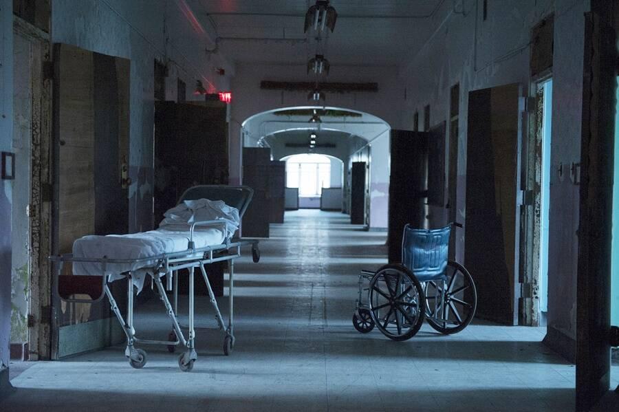 Abandoned Gurney At Trans Allegheny Asylum