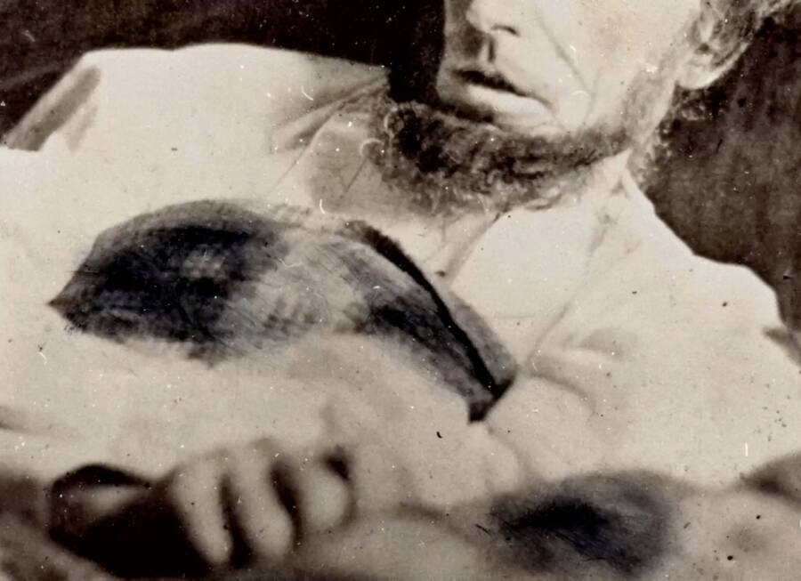 Abraham Lincoln Deathbed Picture