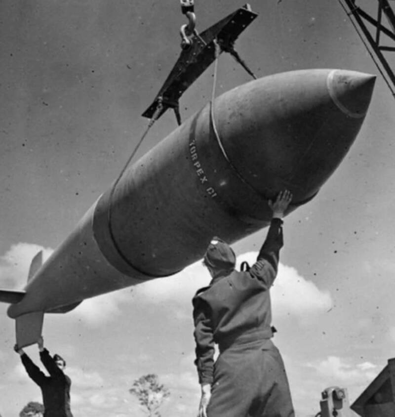 Tallboy Ww2 Bomb