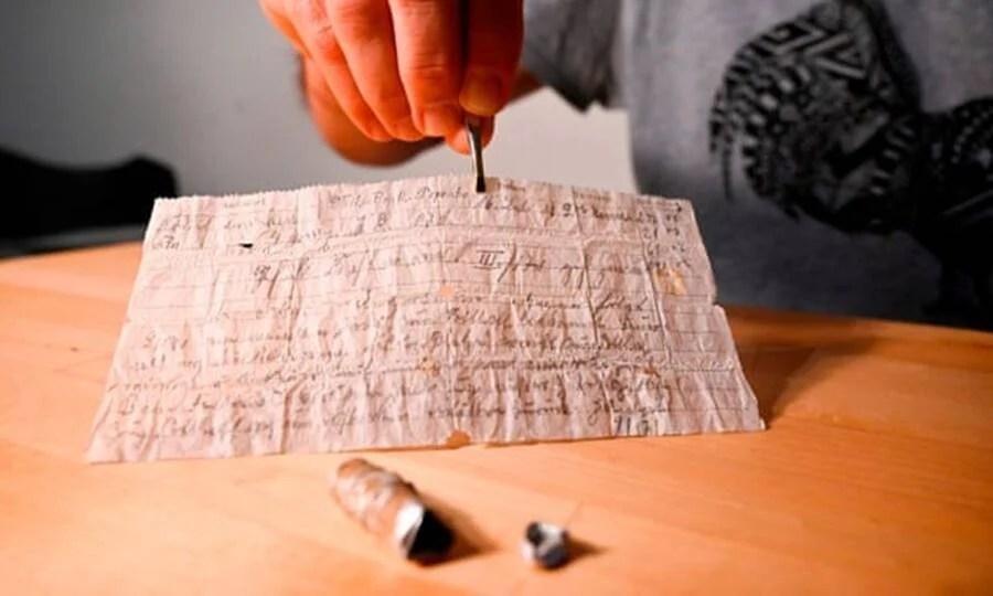 Handwritten War Letter