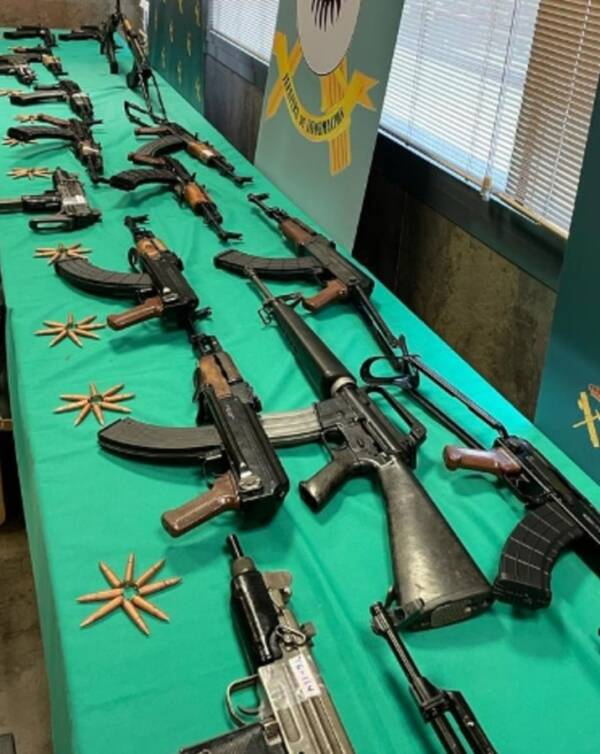 Collection Of Firearms