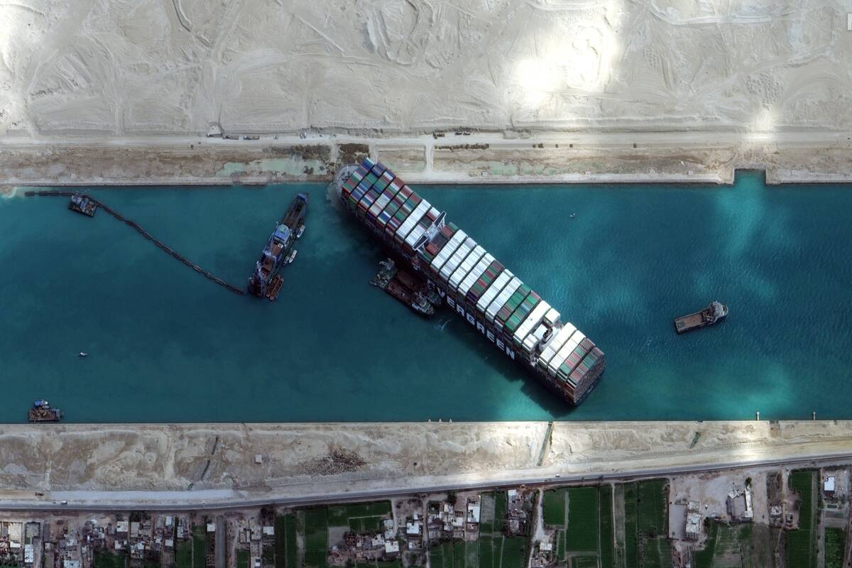 Featured Image - suez canal The Financial Express