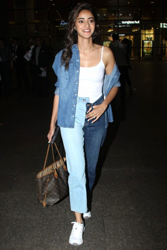 two tone jeans vogue India