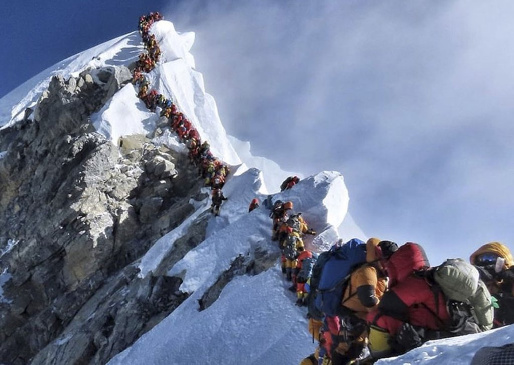 Mount Everest comes under the jurisdiction of Nepal,