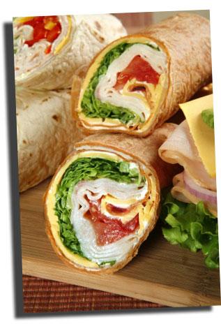 Delicious Sandwich Wrap