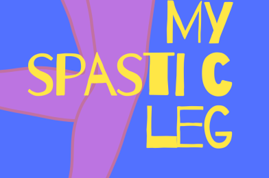 My spastic leg