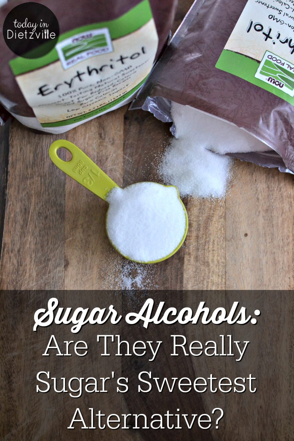 Sugar Alcohols: Are They Really Sugar's Sweetest Alternative? | If you were hoping I was about to explain a super sweet and boozy cocktail, I'm sorry to disappoint. Instead I want to talk about some of those words you may have read on nutrition labels and wondered if they were really ok ingredients. You see, I'm a big believer: if it's on a nutrition label and you can't pronounce it or don't know what it is, DON'T BUY IT. I used words like xylitol and erythritol on food labels and quickly put down whatever product I was holding, believing these to be unnatural, and therefore unhealthy, products. Now that I know what they are, I'm not afraid of them! In fact, I believe they are the sweetest alternative to sugar and natural sweeteners! | AllTheNourishingThings.com