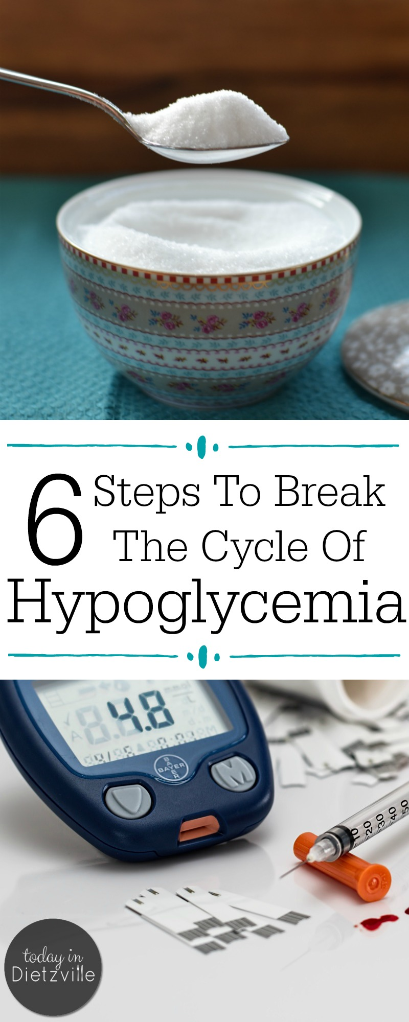 """Do you experience carb and sugar cravings, dizziness, shakiness, irritability, or feeling """"hangry""""? These (& more!) are signs of hypoglycemia -- a precursor to insulin resistance and diabetes. Learn how to break the cycle of hypoglycemia and nourish your way out of imbalanced blood sugar TODAY!"""