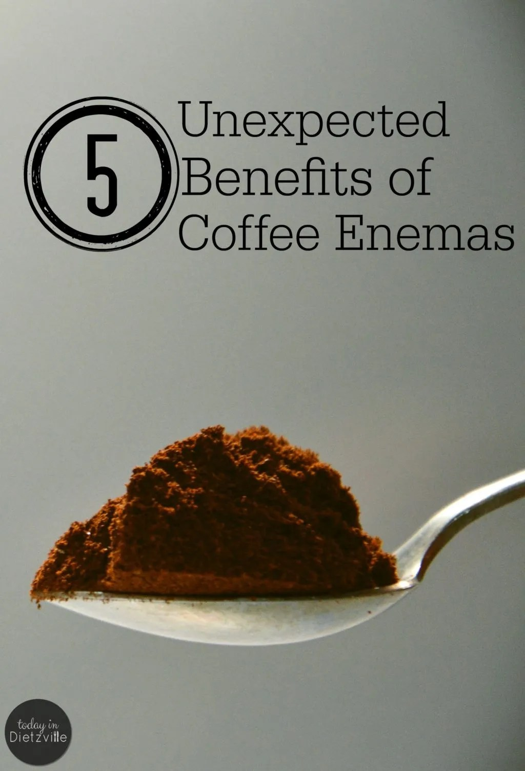5 Unexpected Benefits Of Coffee Enemas For Women | It's no secret that I believe in the amazing benefits of coffee enemas. I've seen firsthand the healing power that coffee enemas have had on my digestive system. I was expecting that. However, I wasn't expecting these 5 perks -- and they're all specific to being a woman! | AllTheNourishingThings.com