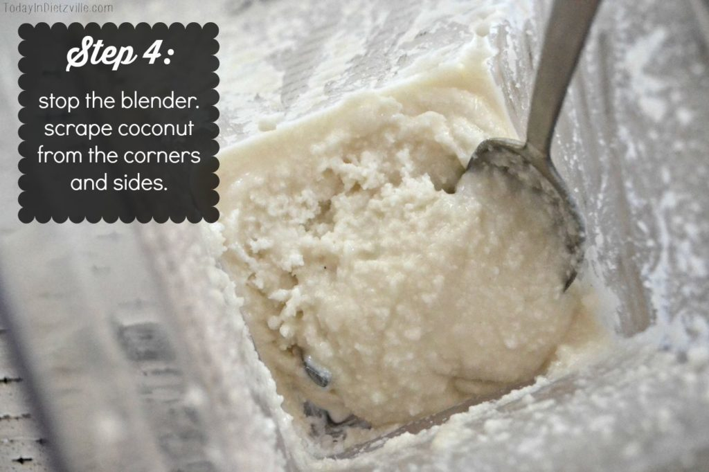 Homemade 5-Minute Coconut Butter | Coconut butter is nothing more than the pureed meat of dried, unsweetened, shredded coconut. It's a versatile staple with tons of healthy fat and lauric acid from the coconuts. Store-bought coconut butter costs a fortune, but you can save a ton by making it yourself, at home, in 5 minutes! Here's how! | AllTheNourishingThings.com