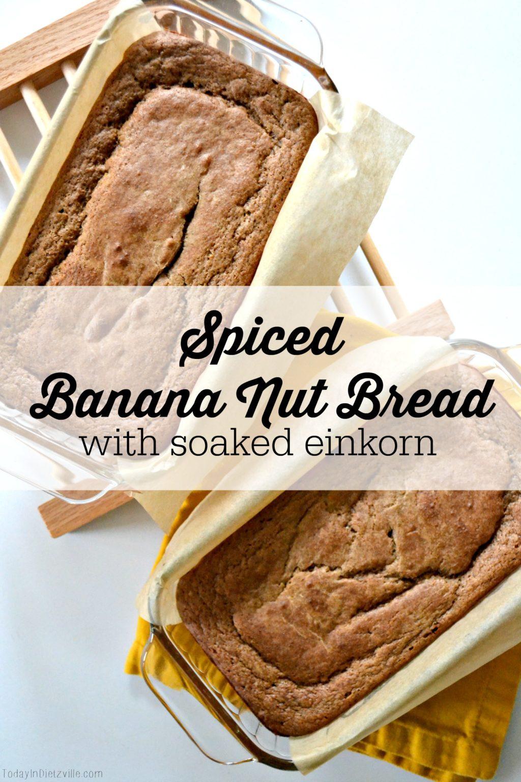 SpicedBananaNutBread All The Nourishing Things