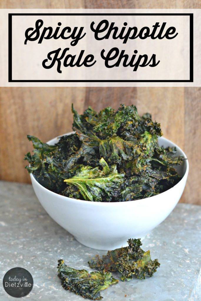 Spicy Chipotle Kale Chips