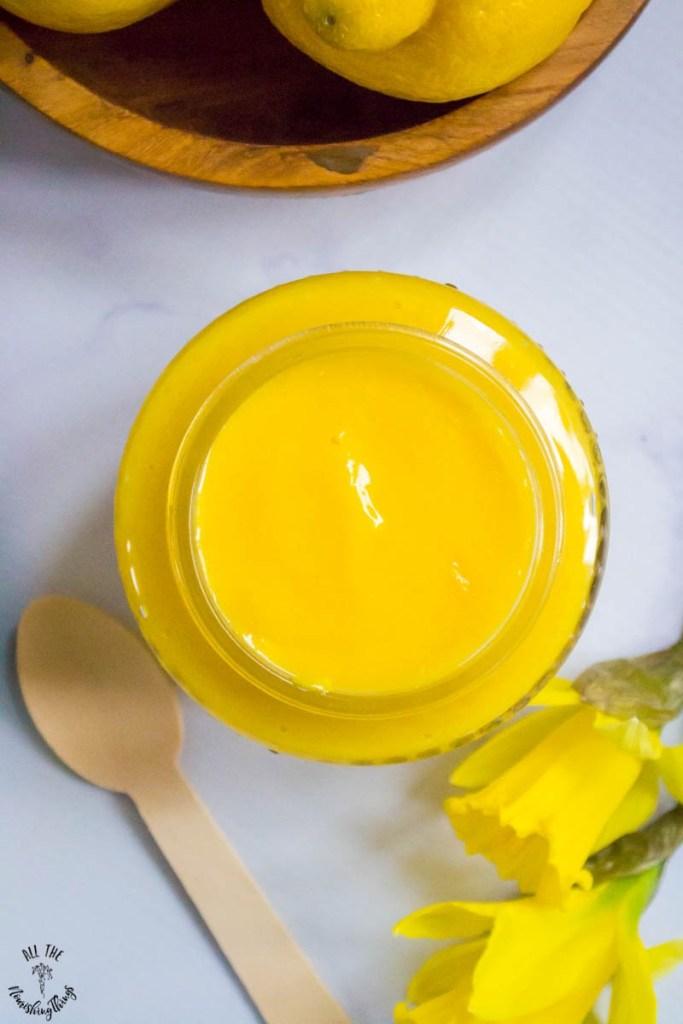 Fresh Paleo & Keto Lemon Curd (with dairy-free & non-keto options!)