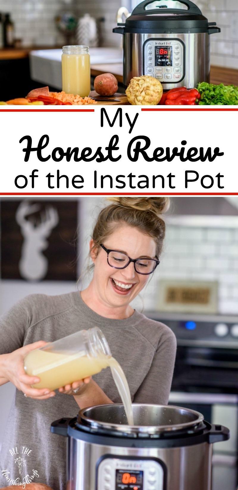 honest review of instant pot