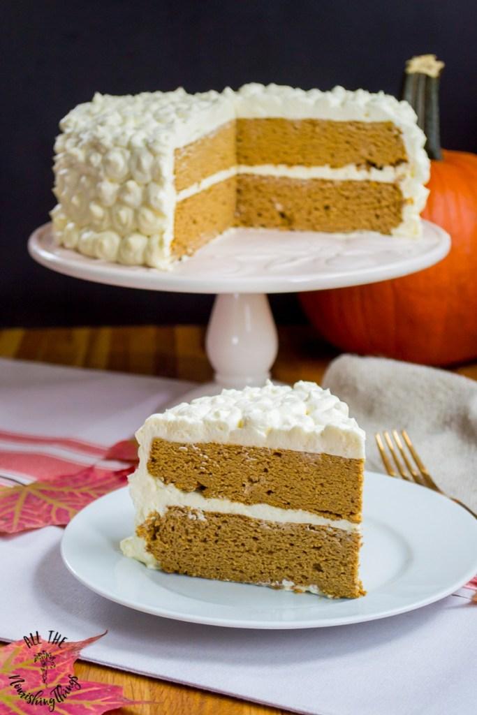 Grain-Free Pumpkin Spice Cake (dairy-free & nut-free, too!)