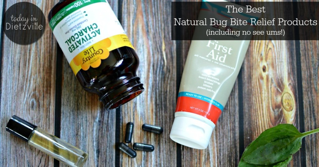 the best natural bug bite relief products essential oils bentonite clay activated charcoal