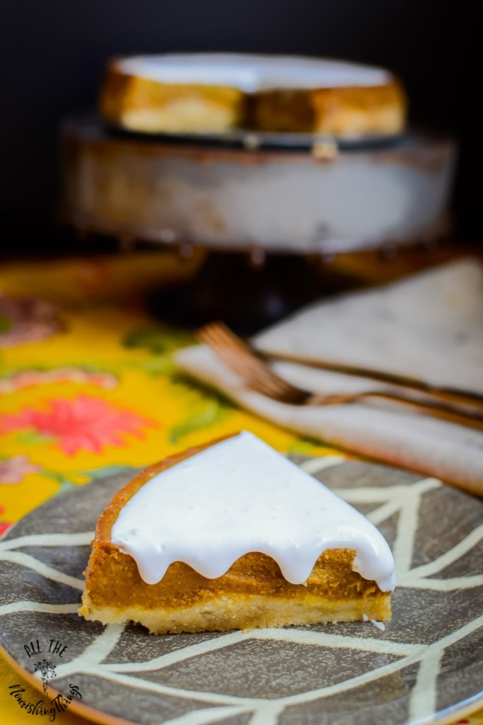 Paleo Instant Pot Pumpkin Pie (with maple sugar crust OR sugar-free option!)